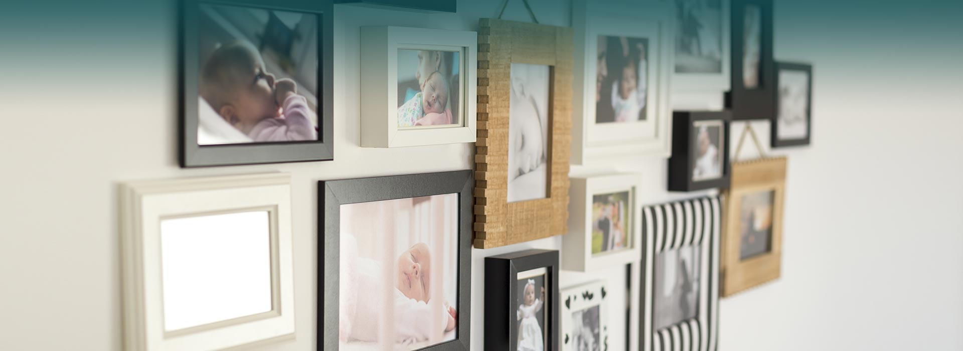 Transform your walls with family memories!